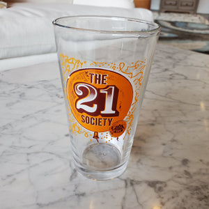 "Red Hook ""The 21 Society"" Pint Glass"