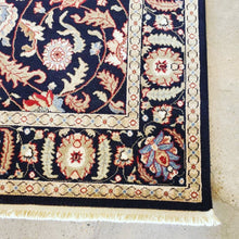 Load image into Gallery viewer, Karastan Palazzo Black and Cream Area Rug