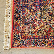 Load image into Gallery viewer, Karastan Multicolor Panel Kirman Discontinued Patter Wool Rug