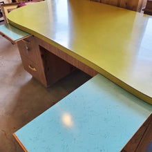Load image into Gallery viewer, Vintage Custom Made Laminate Top Desk
