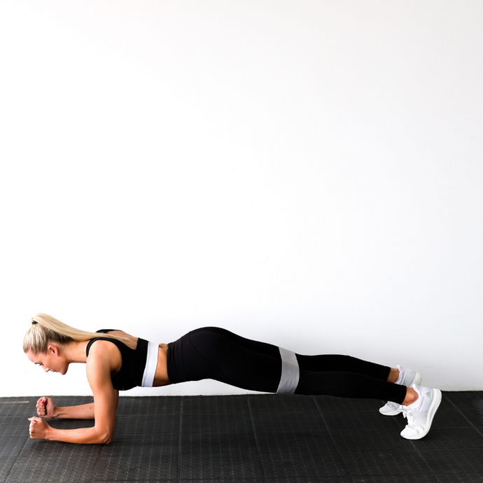 PLANKING - ONE MOVE, WORKING YOUR WHOLE BODY