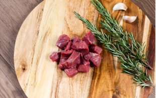 Diced Stewing Lamb - 1kg