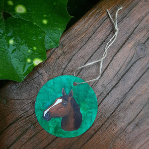 Horsehead Ornament