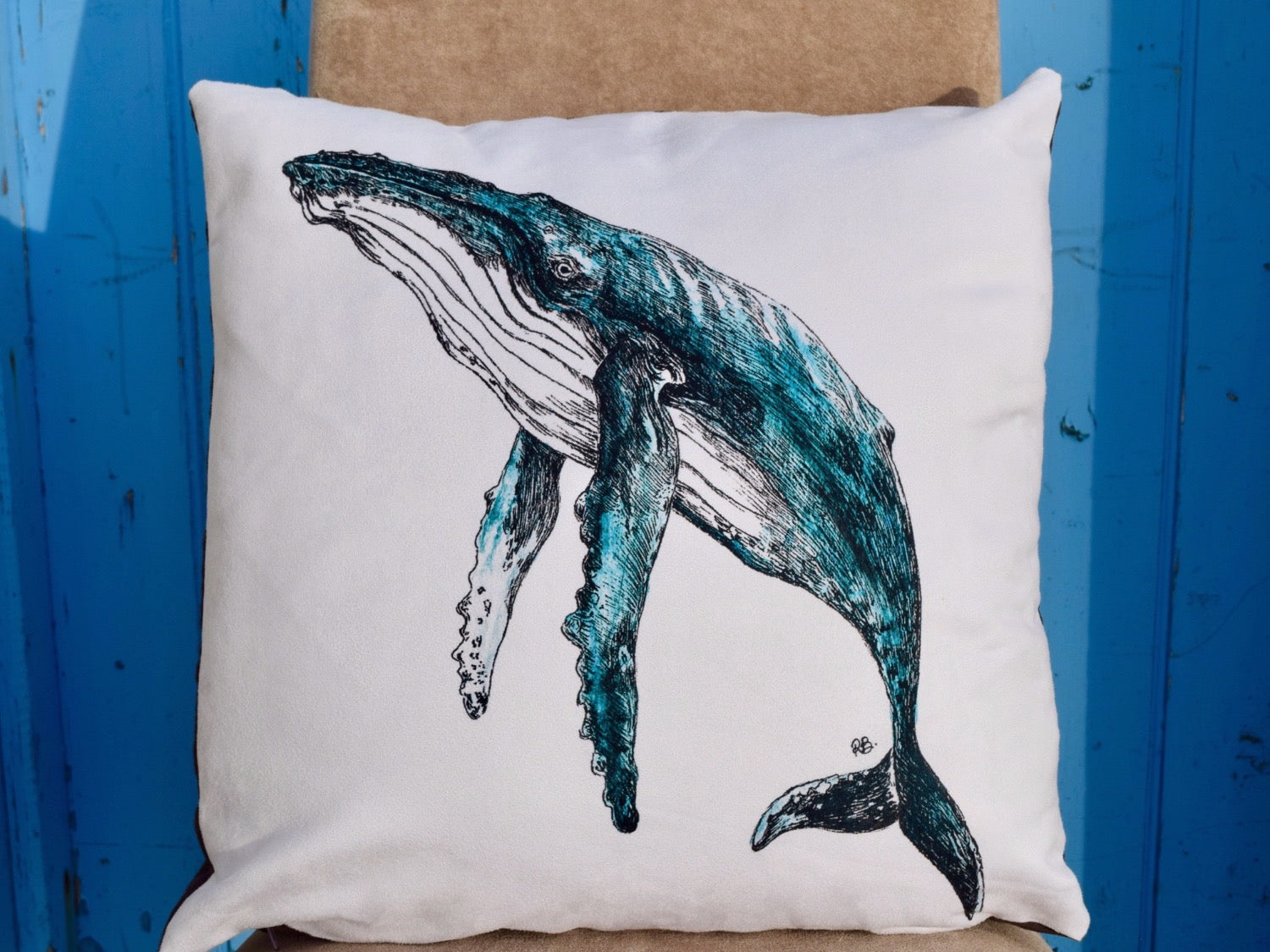 Humpback Whale Cushion