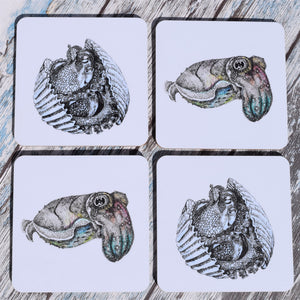 Cephalopod Coaster Set
