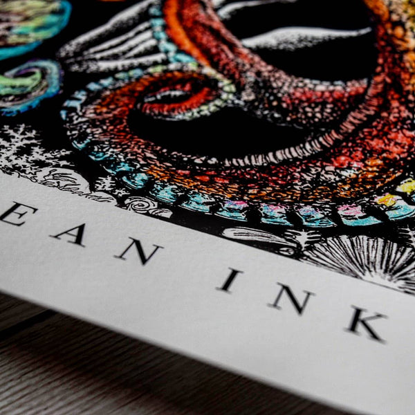 Ocean Ink by Rachel Brooks Art