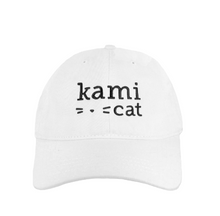 Load image into Gallery viewer, Kami Cat Signature Logo Cap