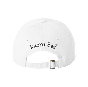 Kami Cat Whiskers Cap in White