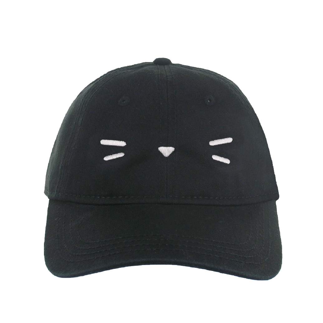 Kami Cat Whiskers Cap in Black