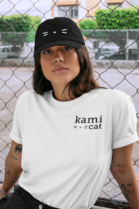 Kami Cat Signature Logo Tee