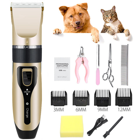 Image of Professional Pet  Electric Hair Trimmer