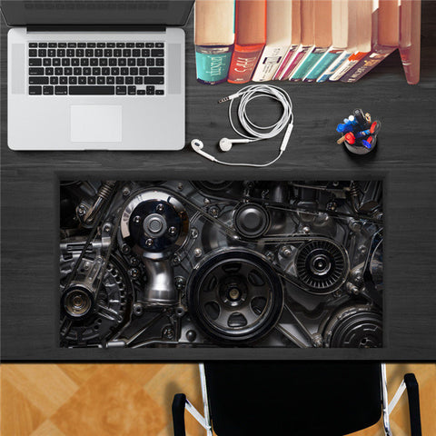 Mechanical Gear  3D Desk Sticker