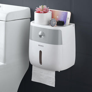 Toilet/Kitchen Paper Holder Wall Mounted