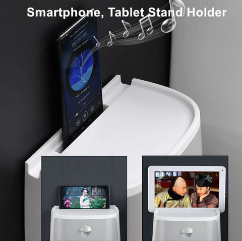 Image of Toilet/Kitchen Paper Holder Wall Mounted