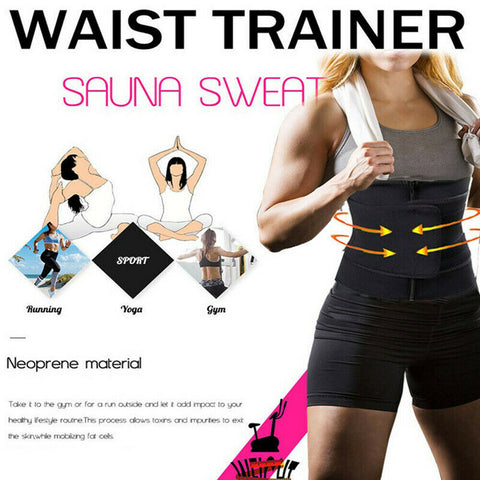 Image of Sweat Body Shaper Waist Trainer