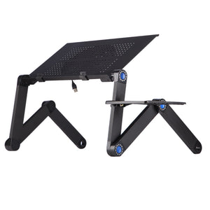 Adjustable Aluminum Laptop Stand Desk