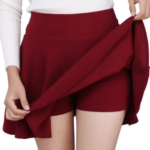 Plus Size Mini Shorts Skirts