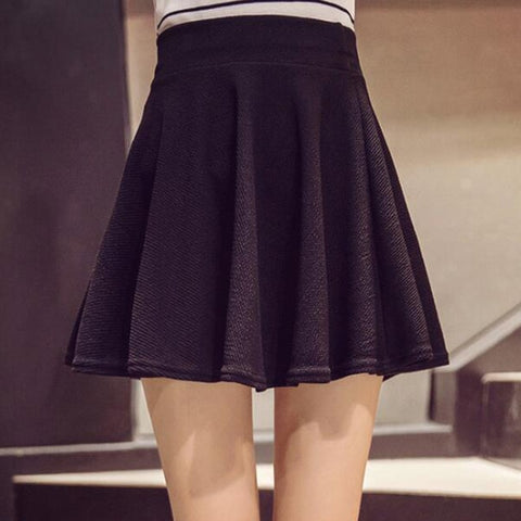 Image of Plus Size Mini Shorts Skirts