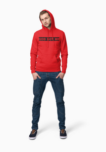 """Chicago Bulls"" Colorway OG Box Logo Hooded Sweatshirt"