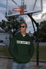 Load image into Gallery viewer, Dark Green/White OG Box Logo Hooded Sweatshirt (MSU Edition)
