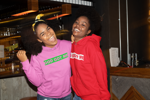 Pink/Green (AKA Edition) OG Box Logo Hooded Sweatshirt