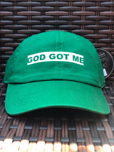OG Green Box Logo Dad Hat