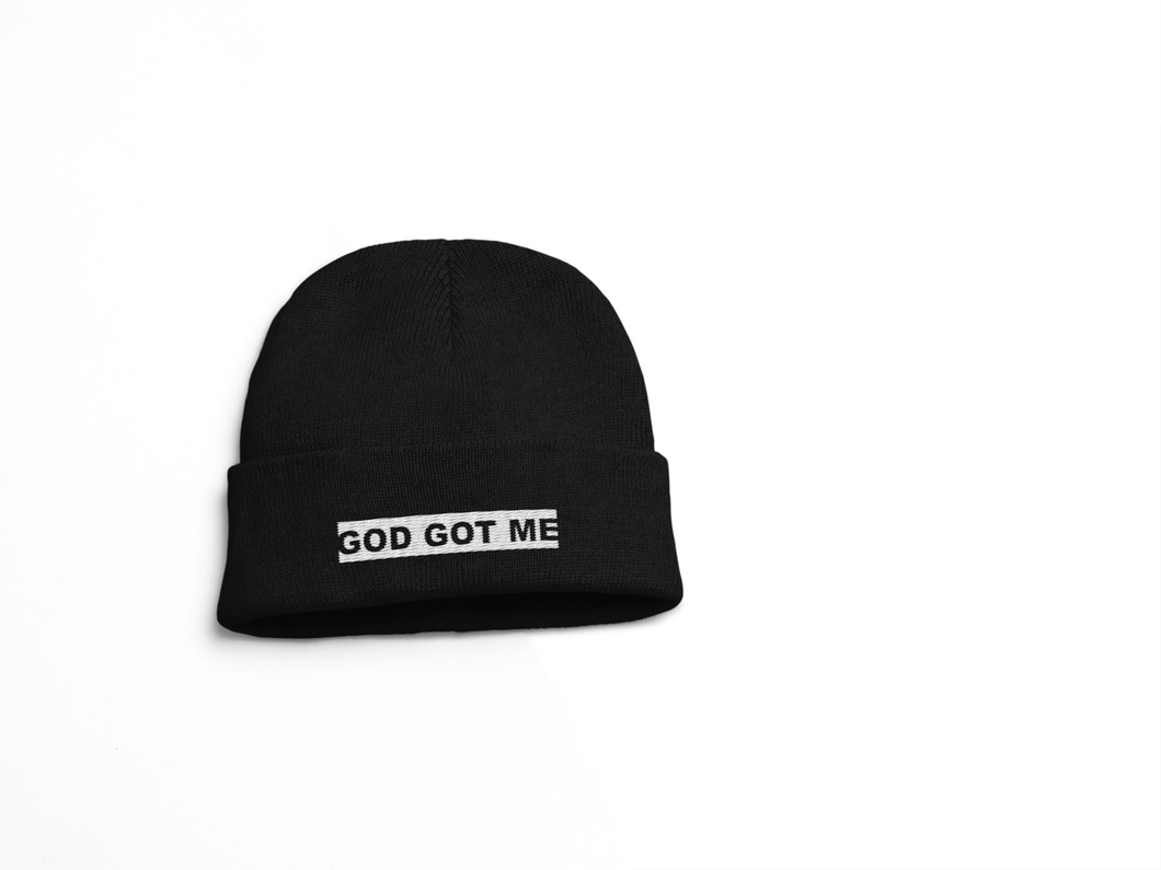 Black OG Box Logo Skull Cap
