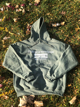 "Load image into Gallery viewer, ""No Worries"" Army Green Hoodie"