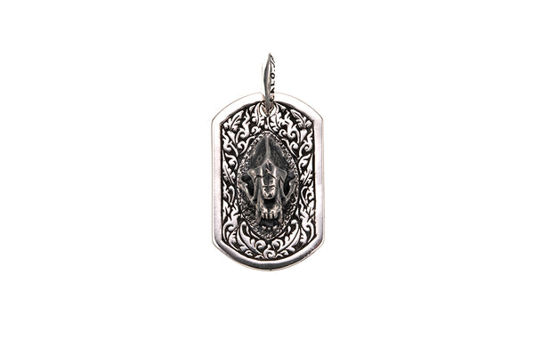 Saber Toothed Tiger Dog Tag-ZOCALO.JAPAN