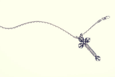 Anchor Square Necklace (M)-ZOCALO.JAPAN