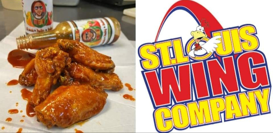 Pure Heat Wings at St. Louis Wing Company!