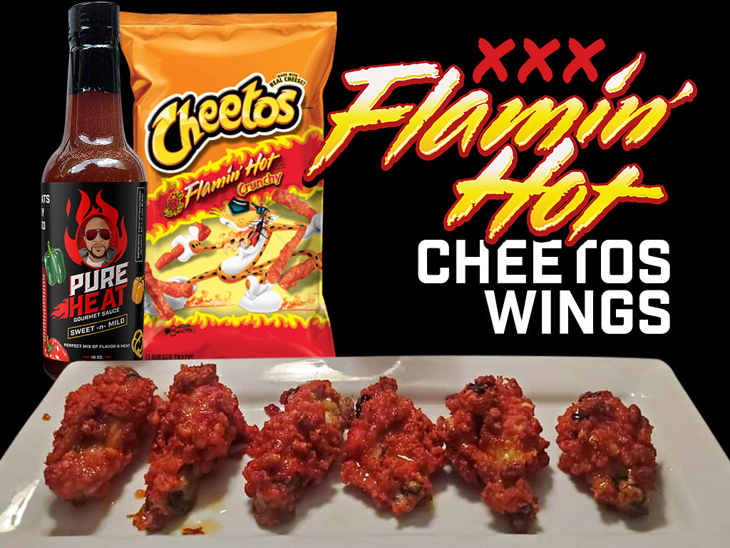 Pure Heat's XXX Flaming Hot Cheetos Wings