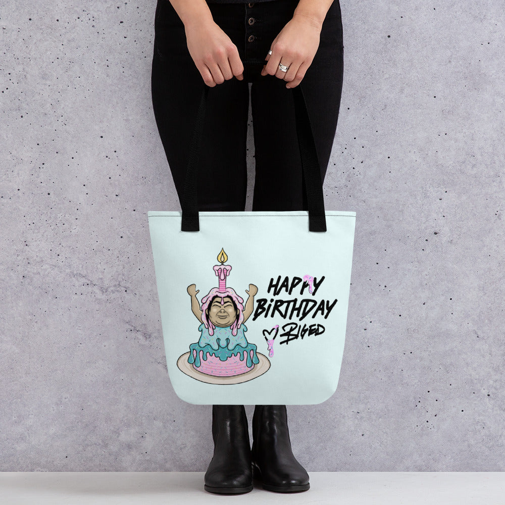 BigED Happy Birthday Tote bag
