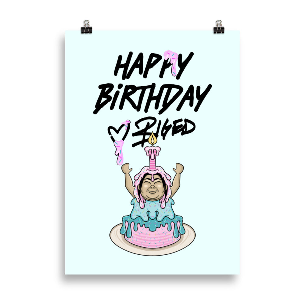Happy Birthday from BigED Poster
