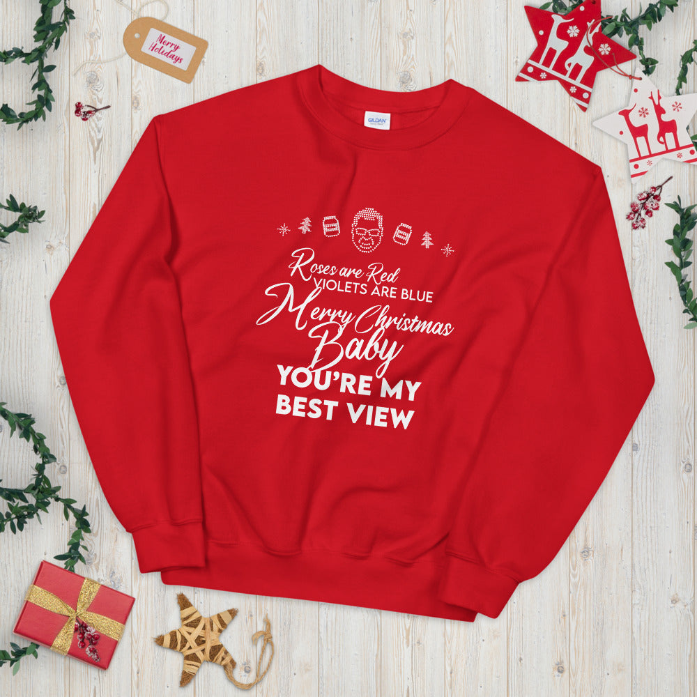 BigED Holiday Poem Ugly Sweater