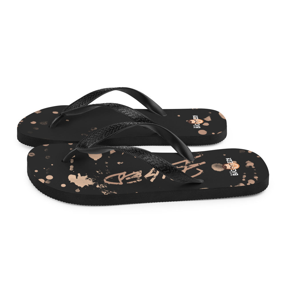 BigED Wear Fall Collection Flip-Flops