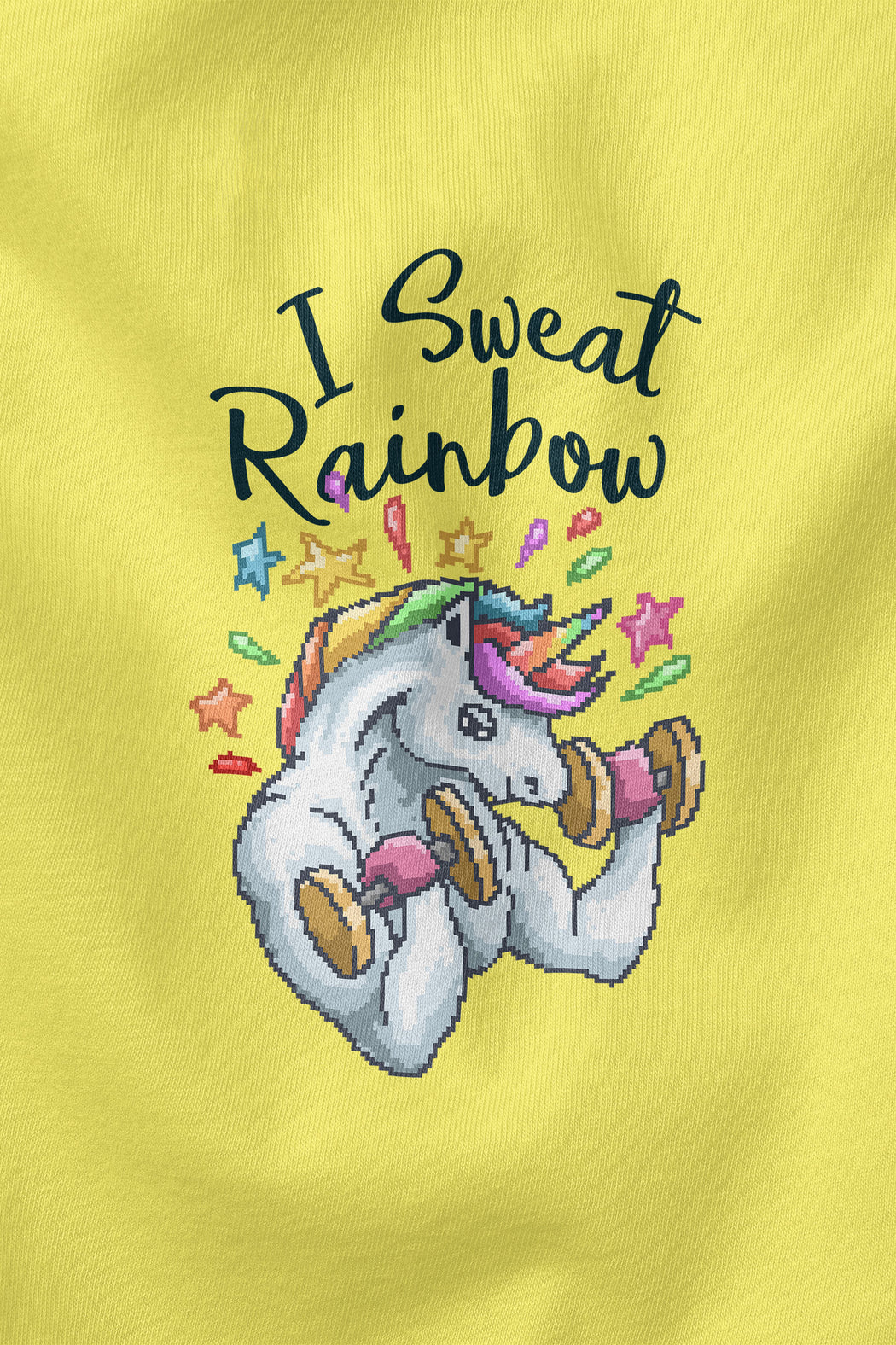 I Sweat Rainbow