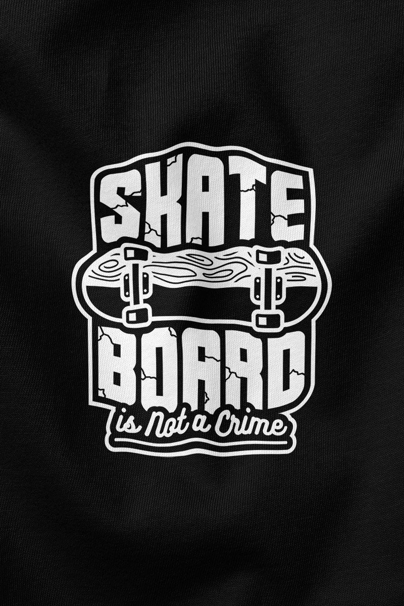 Skateboard not crime