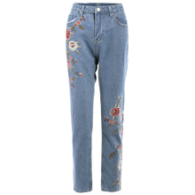 Load image into Gallery viewer, Embroidered Jeans