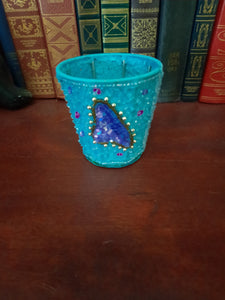 India beaded tea light holders
