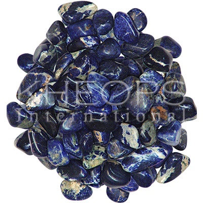 Sodalite pocket stone