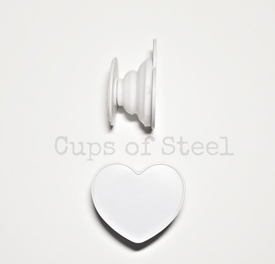 Heart Shaped Phone Grips