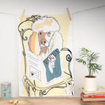 Poodle Vogue - Tea Towel