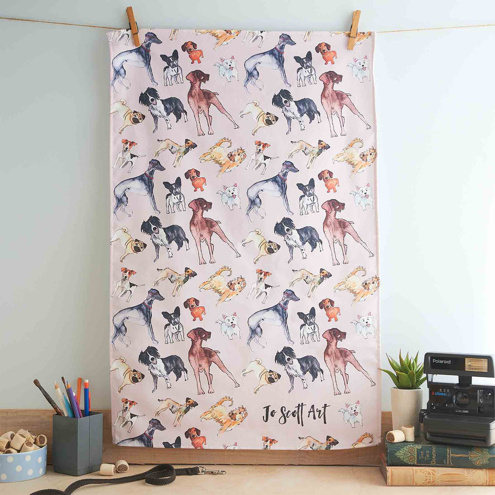 Crufts Dogs  - Tea Towel