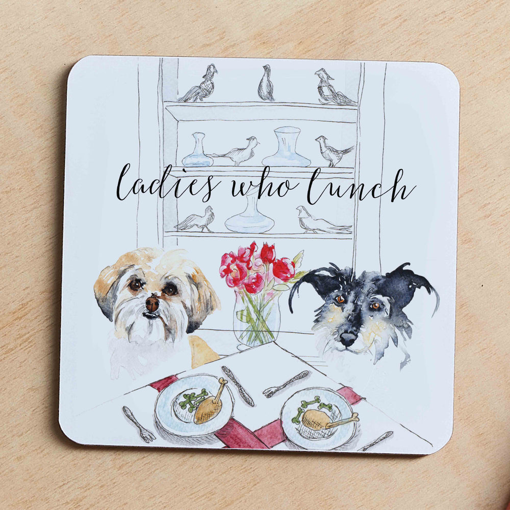 Load image into Gallery viewer, Ladies Who Lunch, Jumbo Coaster