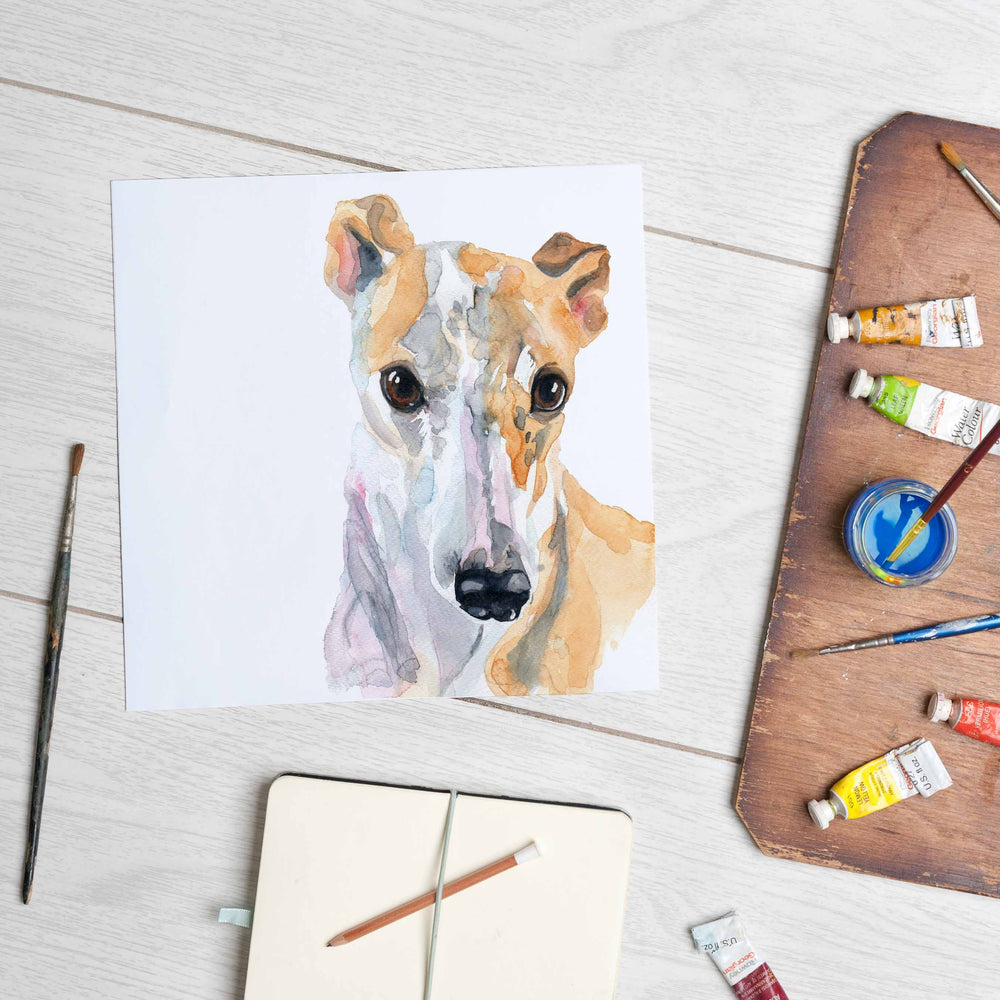 Load image into Gallery viewer, Galgo (Mounted Print)
