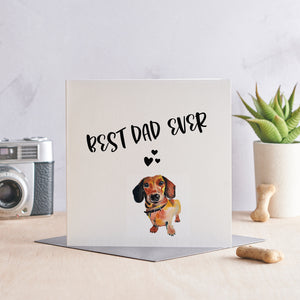 Best Dad Ever! Dachshund