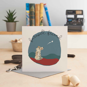 Load image into Gallery viewer, Farewell Friend - Dog Sympathy Greeting Card