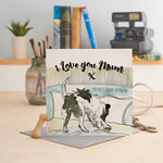I Love You Mum present's under the pillow - U79