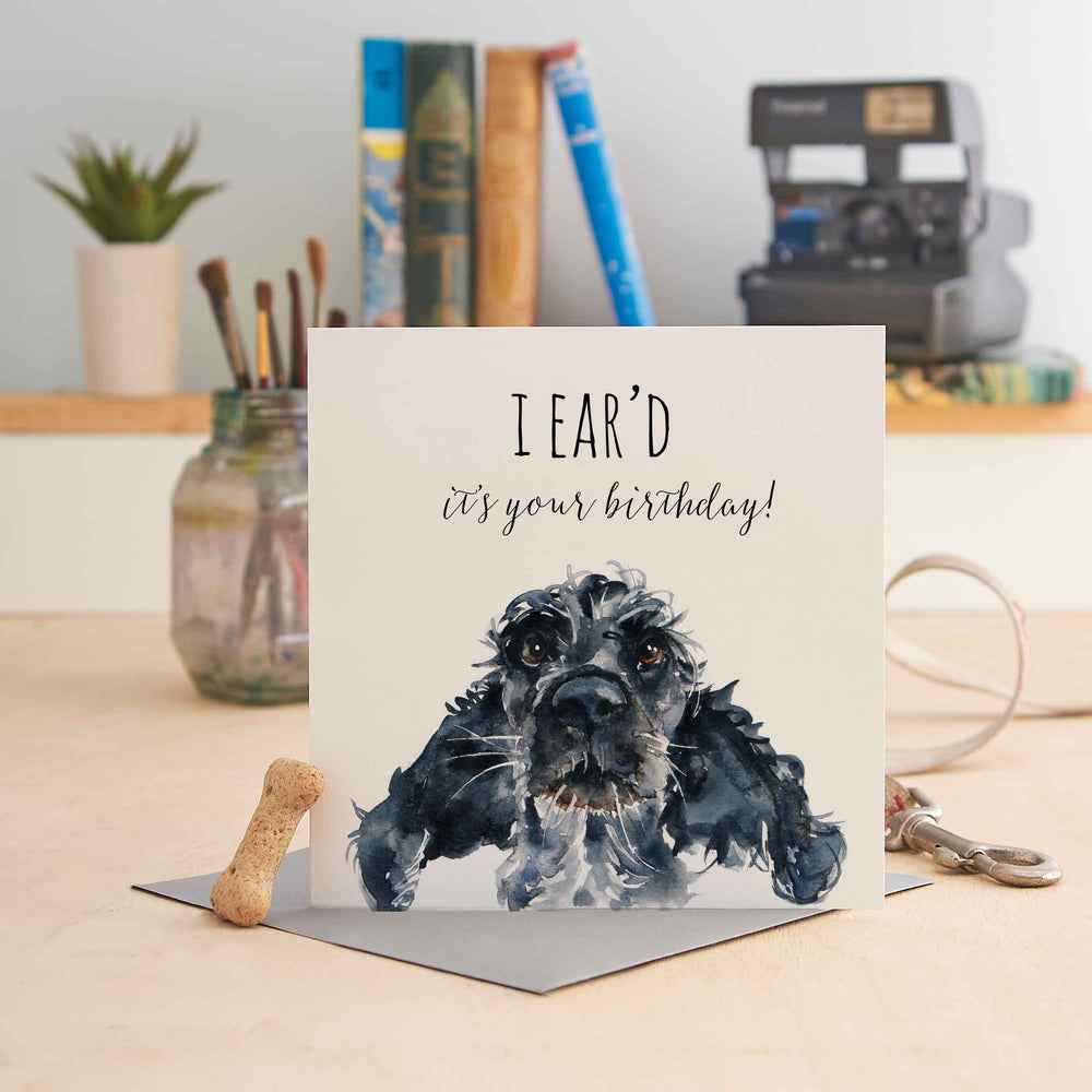 I Ear'd it's your Birthday - Greeting Card